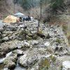 3月後半、大岳キャンプ場で車中泊・初心者カップルのキャンプレポート